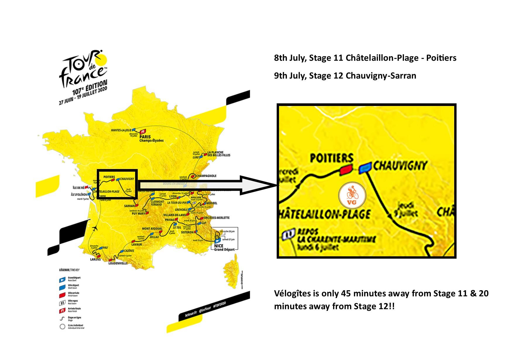 Map Of Tour De France 2020 Tour De France 2020 2019 11 29
