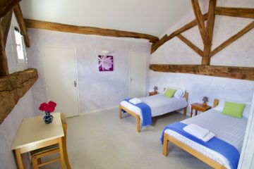 VeloGites Gite de la Bussiere bedroom 4